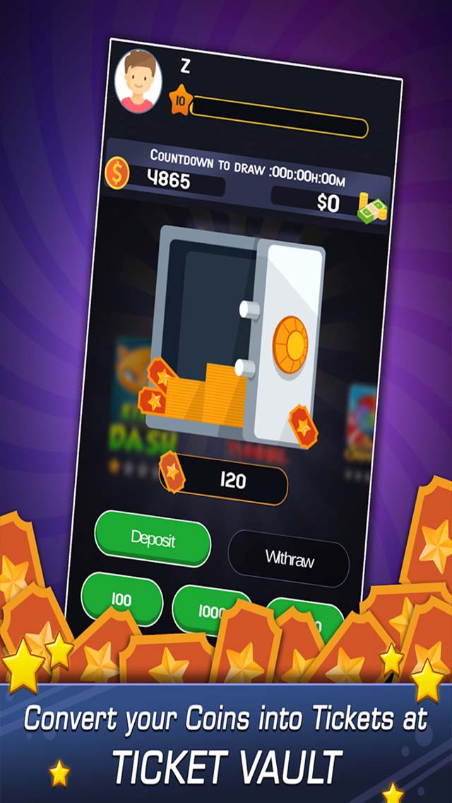 Play Games to earn Coins